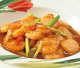 虾酱炒带子的做法