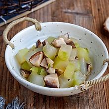 香菇焖冬瓜