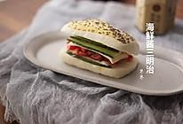 #硬核菜谱制作人#海鲜酱三明治,这可是馒头做的呢的做法