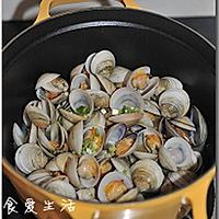 酒蒸蛤蜊的做法图解6