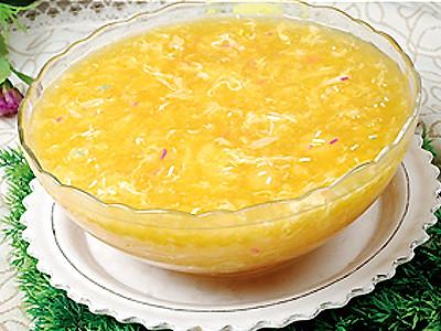 瑶柱粟米鸡蛋羹的做法