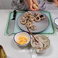 芝士培根芋泥烤口蘑—快手小食系列的做法图解12