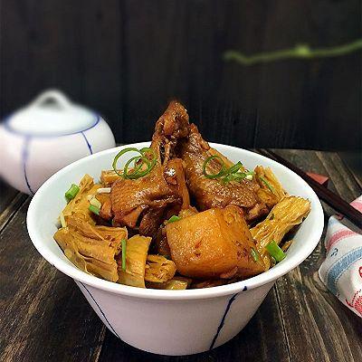 腐竹土豆烧翅根