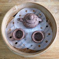 黑全麦面包形象粗陶茶器芝麻汤圆#年味十足的中式面点#的作法流程详解14