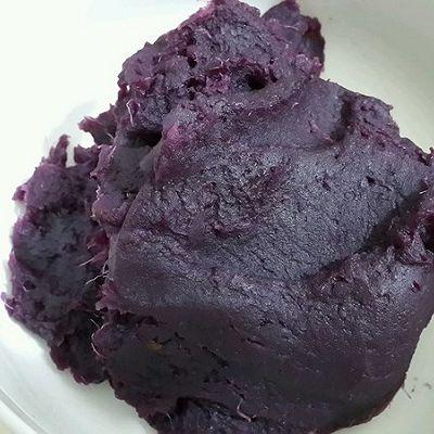 面包机做紫薯馅