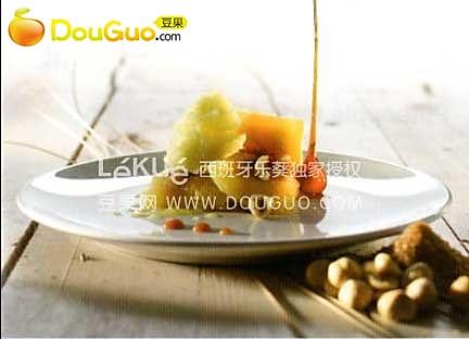 焦糖菠萝意饺的做法