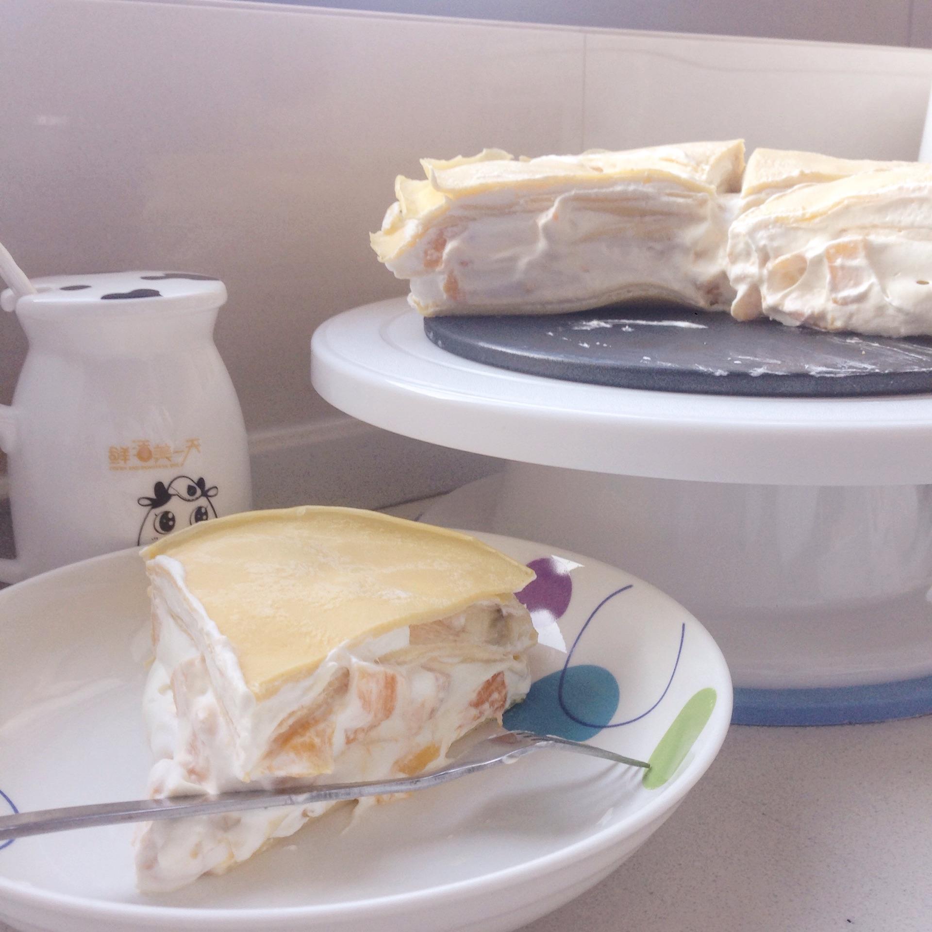 千层蛋糕的做法_千层蛋糕的做法