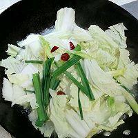白菜烩豆腐的做法图解4