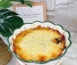 不用去外面吃自己也能做的芝士焗紫薯的做法