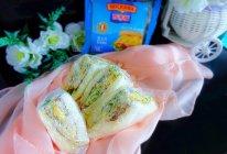 蛋香芝士三明治#百吉福食尚达人#的做法