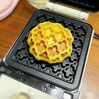 #肉食者联盟#红豆南瓜华夫饼的做法图解5