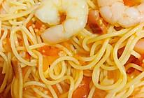 意大利虾仁面的做法