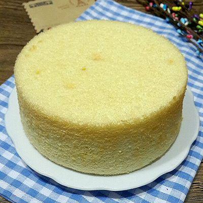 无油戚风蛋糕(零负担、松软细腻)