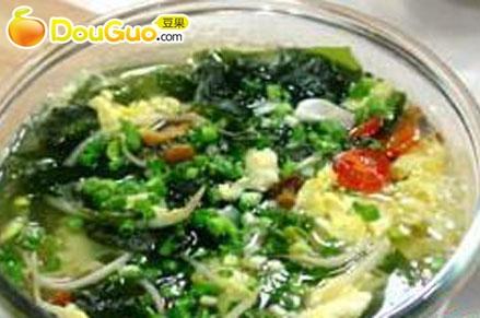 海带芽什蔬汤的做法