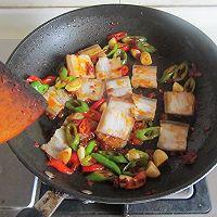 酸豆角回锅肉的做法图解6