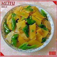 尖椒炒土豆片
