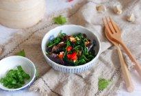 芹菜叶拌木耳的做法