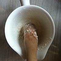 9M宝宝辅食之核桃大米粥的做法图解2