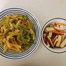 最简单的芹菜炒土豆