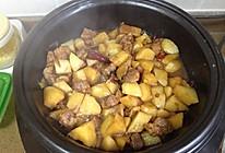 超随意的土豆炖肉的做法