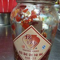 冬季里,来一盘热辣的蒜薹泡椒炒鸡胗吧!的做法图解4