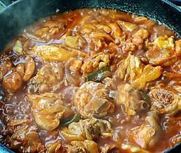 韩式辣炒鸡腿肉的做法