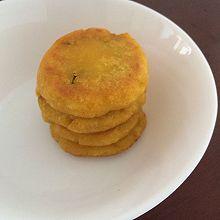 金丝南瓜饼