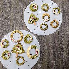 圣诞小零食黄油曲奇饼干 这样打发黄油 轻松挤得动 花纹不消失