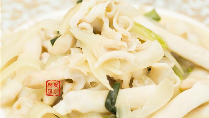 【曼步厨房】姜葱竹蛏