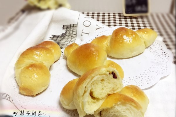 """蔓越莓奶酥卷卷小面包#享""""美""""味#的做法"""