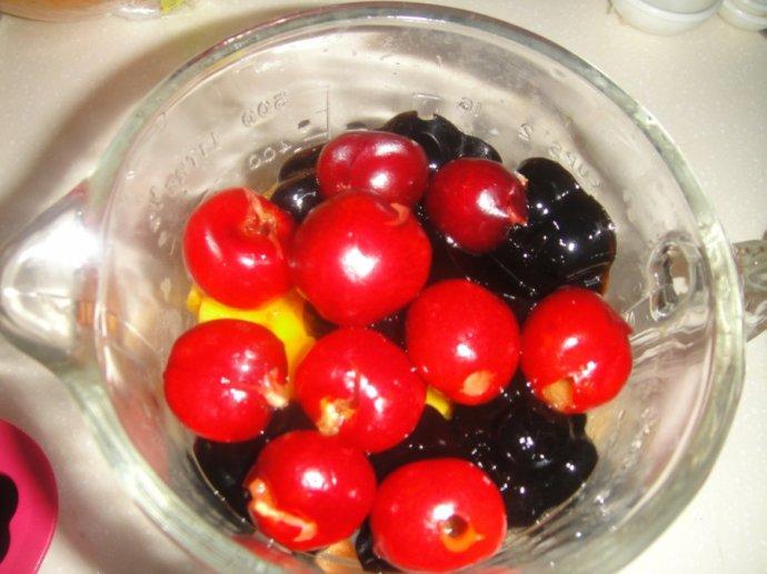 ------图解水果捞奶白底的做法