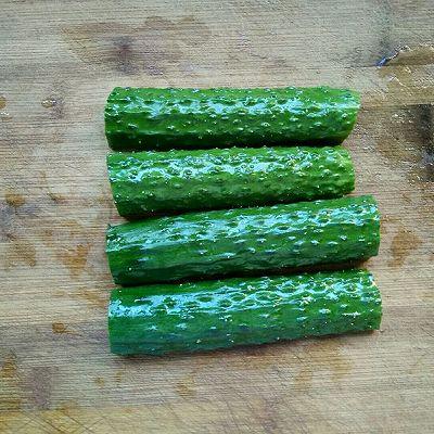 爽口脆黄瓜的做法 步骤2