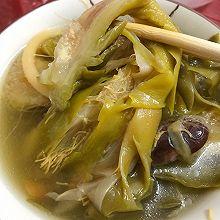 霸王花木瓜煲猪踭汤
