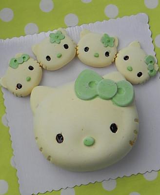KT猫芒果流心冻芝士蛋糕