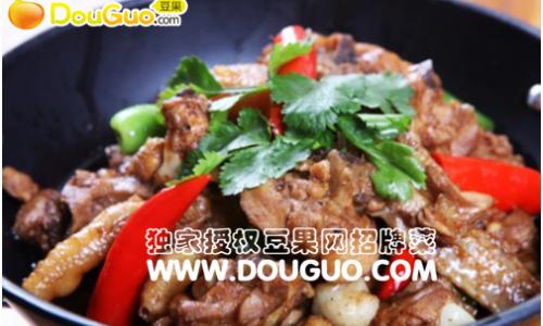 干锅土鸡的做法