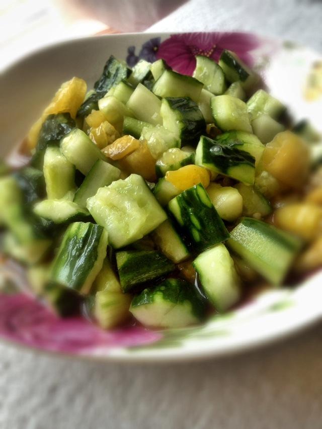 黄瓜拌菜谱的英文鸡块红烧糖醋胡椒粉图片