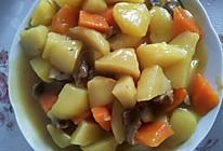咖喱土豆牛肉的做法