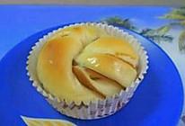 莲蓉卷面包的做法