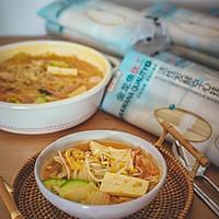 韩式泡菜风味汤面的做法图解8