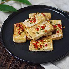 辣椒烤老豆腐