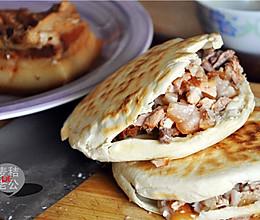 西安腊汁肉夹馍【利仁电饼铛试用】的做法