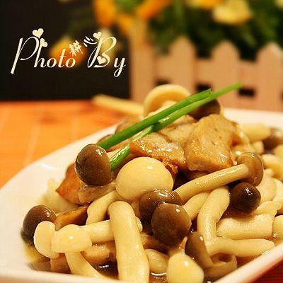 潮汕肉卷炒菌菇
