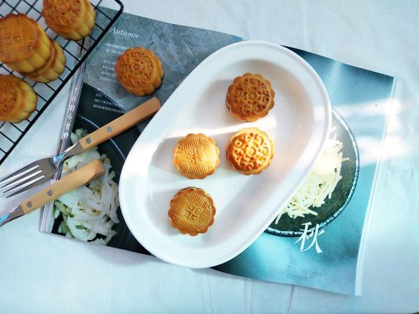 广式小月饼-紫薯馅的做法