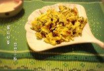 【10分钟懒人菜】酱瓜炒蛋的做法