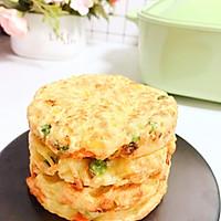 时蔬土豆饼10M+ 快手早餐约一下的做法图解6