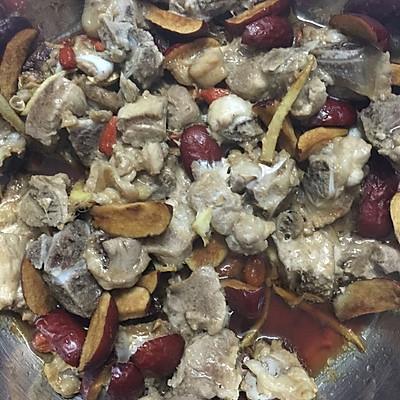 红枣蒸排骨(月子餐)