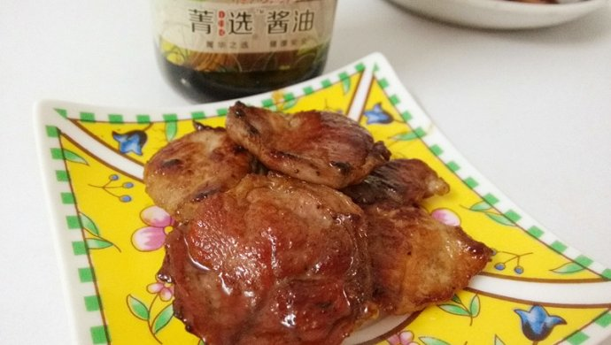 #菁选酱油试用之照烧猪肉