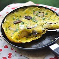 香菇煎蛋——早餐的做法图解9