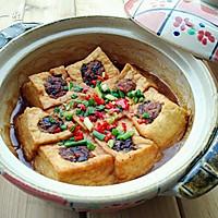 砂锅豆腐酿的做法图解12