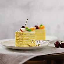 我近期最爱的一款蛋糕,层层奶酪夹心